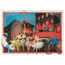 Moulin Rouge Paris Postcard ~ Germany