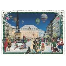 Christmas City Center Postcard ~ Germany