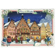 Frankfurt Christmas Postcard ~ Germany