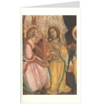 Singing Angels Christmas Card ~ Rossi Italy