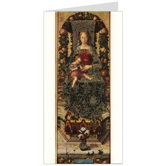 Madonna and Child Italian Christmas Card ~ Rossi Italy