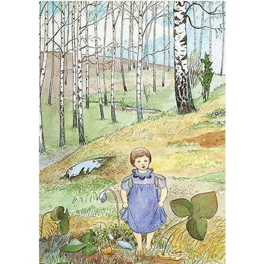 Forest Sprite Postcard ~ Sweden