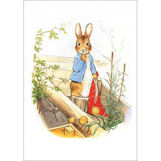 Beatrix Potter Postcard with Peter Rabbit ~ Sweden