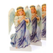 "Christmas Angel Folding Paper Frieze from Sweden ~ 6-1/4"" tall"