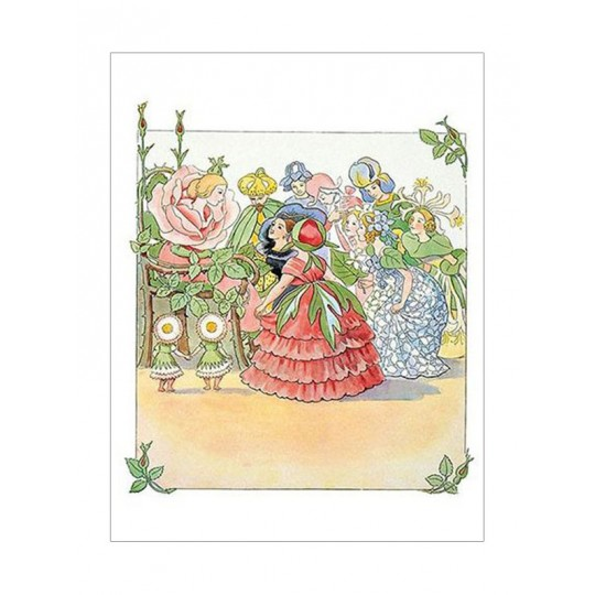 Flower Fairies Postcard ~ Sweden
