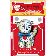 "Pack of 15 Old Fashioned Valentines ""Retro Valentines"" featuring Animals and Children ~ USA"