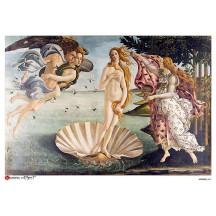Botticelli Birth of Venus Rice Paper Decoupage Sheet ~ Italy