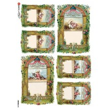 Gloria in Excelsis Deo Rice Paper Decoupage Sheet ~ Italy
