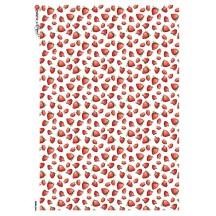 Petite Strawberry Print Rice Paper Decoupage Sheet ~ Italy