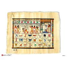 Hieroglyphic Alphabet Rice Paper Decoupage Sheet ~ Italy