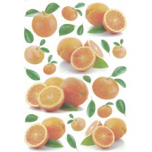 Mixed Oranges Rice Paper Decoupage Sheet ~ Italy
