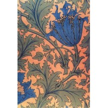 William Morris Large Art Nouveau Flower Rice Paper Decoupage Sheet ~ Italy