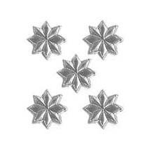 Medium Silver Dresden Foil Stars ~ 72