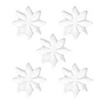 Medium White Paper Dresden Stars ~ 72