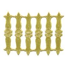 Gold Dresden Foil Embellishments ~ 18