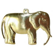 Extra Large Gold Dresden Elephant ~ 2
