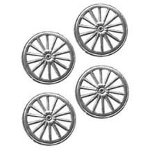 Silver Dresden Foil Wheels ~ 10