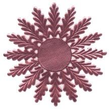 Large Pink Dresden Foil Medallions or Halo ~ 2