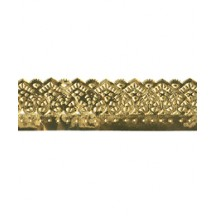 "Gold Dresden Heart Trim ~ 7/8"" wide"