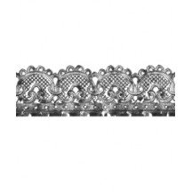 "Silver Dresden Scrolled Flourish Trim ~ 1"" wide"