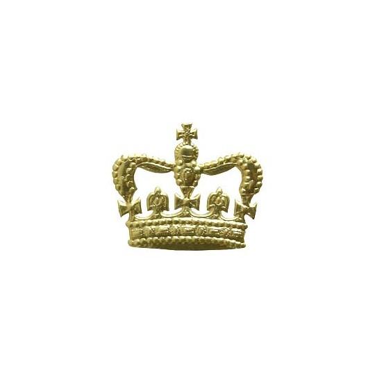 Gold Dresden Foil Bourbon Crowns ~ 12
