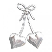 Silver Dresden Foil Hearts & Bows ~ 30