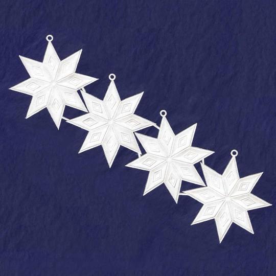White Paper Dresden Diamond Stars ~ 4