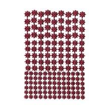 Burgundy Classic Dresden Stars ~ 159 Assorted