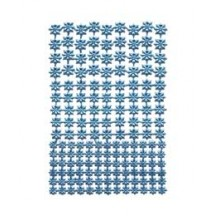 Light Blue Classic Dresden Stars ~ 159 Assorted