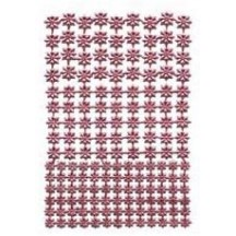 Pink Classic Dresden Stars ~ 159 Assorted