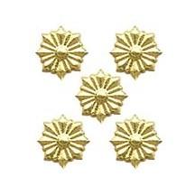 Gold Dresden Foil Star Medallions ~ 54