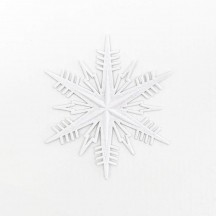 Petite Classic White Paper Dresden Snowflakes ~ 3