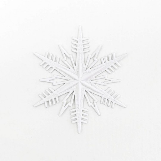 Petite Classic White Paper Dresden Snowflakes ~ 3