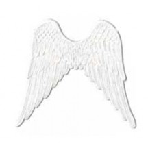 Large White Paper Dresden Angel Wings ~ 4