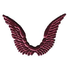 Celestial Burgundy Dresden Angel Wings ~ 10