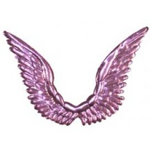 Celestial Pink Dresden Angel Wings ~ 10