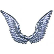 Celestial Silver Dresden Angel Wings ~ 10