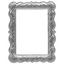Silver Dresden Foil Shell Frame ~ 1