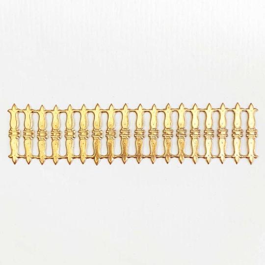 Antique Gold Dresden Foil Embellishments ~ 18