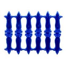 Dark Blue Dresden Foil Paper Embellishments ~ 18