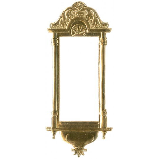 Fancy Gold Dresden Foil Frame ~ 1