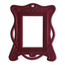 Burgundy Art Nouveau Dresden Foil Frames ~ 2