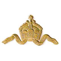 Antique Gold Dresden Foil Diadem Tiaras ~ 6