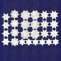 White Paper Dresden Stars & Halos ~ 26 Assorted