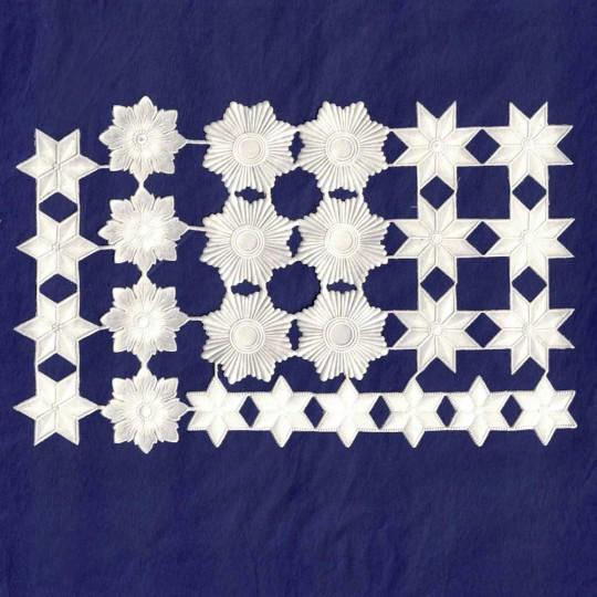 White Paper Dresden Stars & Halos ~ 26 Assorted