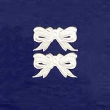 White Paper Dresden Medium Bows ~ 10