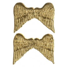 Gold Medium Dresden Angel Wings ~ 6