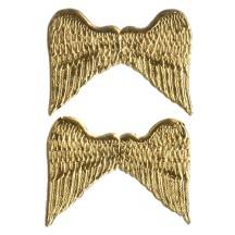 Gold Medium Dresden Angel Wings ~ 6