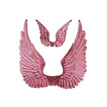 Pink Dresden Foil Swan Wings ~ 8
