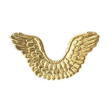 Gold Dresden Foil Wings ~ 7